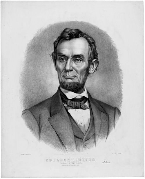 """*ABRAHAM LINCOLN~Portrait:  the 16th President of the United States, serving from March 1861 until his assassination in April 1865. Lincoln successfully led his country through its greatest constitutional, military, and moral crisis – the American Civil War – preserving the Union while ending slavery, and promoting economic and financial modernization."""""""