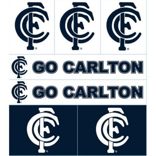 GO THE BLUES! BEST RANGE AND VALUE OF AFL CARLTON FOOTBALL CLUB GEAR