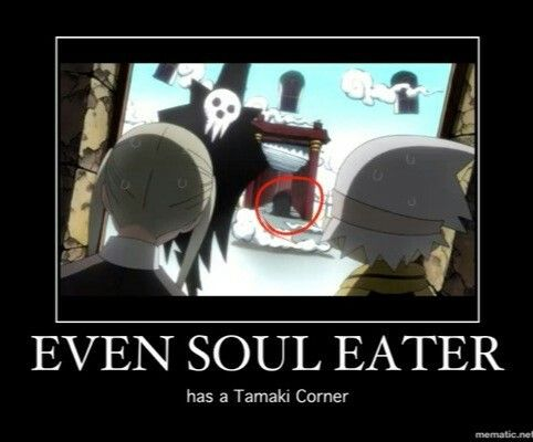 It's even more funny since Vic Mignogna voices both Tamaki suoh and Maka's father in the dubbed version. XD
