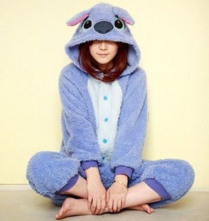How cool are these are these animal onesies? :)Baby Stitch Adult Onesie Pajamas