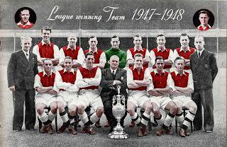 EQUIPOS DE FÚTBOL: ARSENAL Campeón de Liga 1947-48