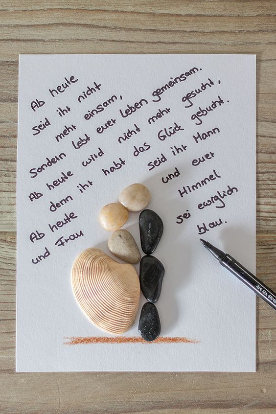 2. Schritt DIY Bilderrahmen zur Hochzeit – Katja Weihe