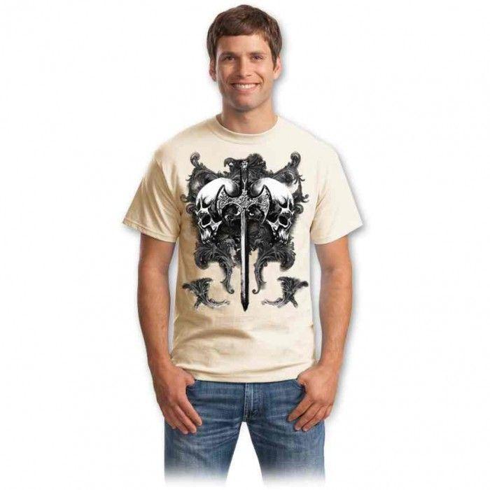 Tricouri cu cranii – Tricou Cranii gemene
