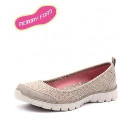 Ez Flex 3.0 Serene Scene Taupe by Skechers - Shoes Online from Styletread