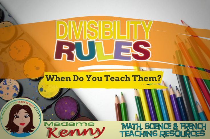 In this blog post, I talk about how and when I teach divisibility rules.  Follow me as I venture into Middle School teaching life. #divisibilityrules #middleschoolmath #madamekenny