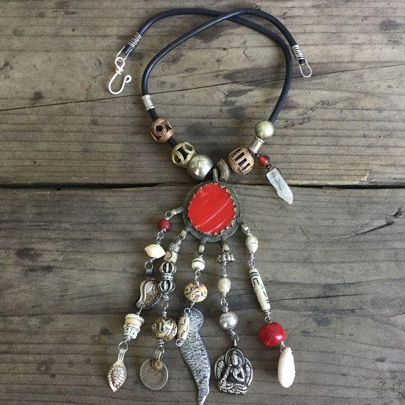 Tribal ketting kuchi ketting zigeuner ketting tribal door quisnam