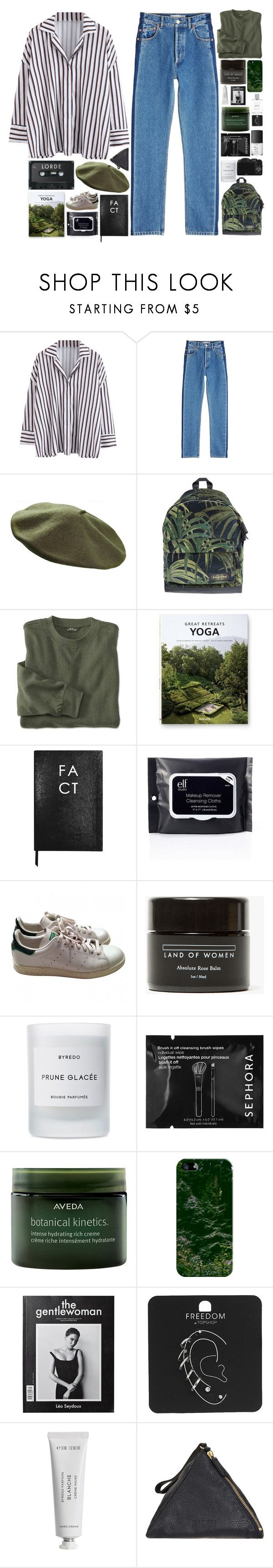 """We were moving"" by akp123 ❤ liked on Polyvore featuring Balenciaga, Eastpak, Taschen, Sloane Stationery, adidas, Land of Women, Byredo, CO, Sephora Collection and NARS Cosmetics"