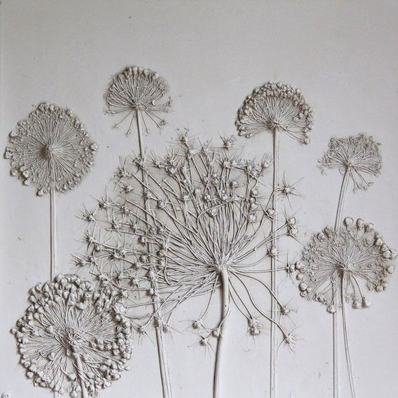 Artist Rachel Dien Creates Delicate Fossils From Flowers