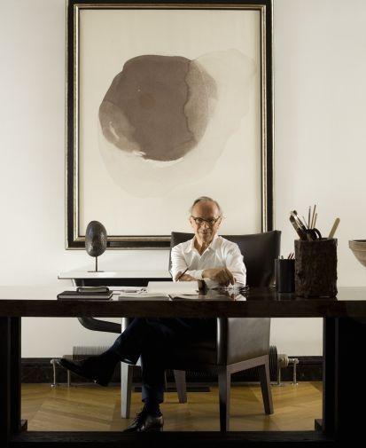 Tristan Auer: Good Taste in Interiors |  REVISIT: Christian Liaigre's 18th Century Paris Home TheModernSybarite