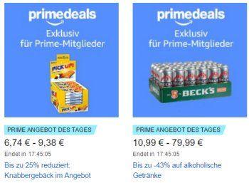 Amazon: Bier und Popcorn für einen Tag mit Prime-Rabatt https://www.discountfan.de/artikel/essen_und_trinken/amazon-bier-und-popcorn-fuer-einen-tag-mit-prime-rabatt.php Exklusiv für Prime-Kunden sind heute bei Amazon Snacks und Bier zu Schnäppchenpreisen zu haben. Mit dabei sind Pick-Up-Riegel und Popcorn. Amazon: Bier und Popcorn für einen Tag mit Prime-Rabatt (Bild: Amazon.de) Die Discount-Angebote aus den Bereichen Snacks und Bier gelten nur am heutigen Do... #Bier,