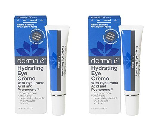 derma e Pycnogenol and Hyaluronic Acid Eye Crème 0.5 oz (14 g) (Pack of 2) Review https://weightlossteareviews.info/derma-e-pycnogenol-and-hyaluronic-acid-eye-creme-0-5-oz-14-g-pack-of-2-review/