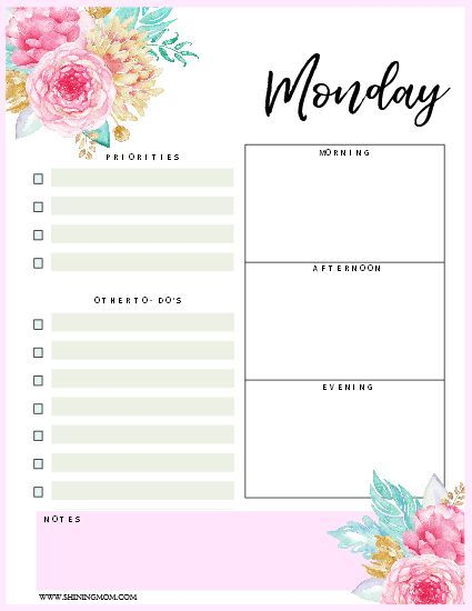 The 25+ best Daily schedule template ideas on Pinterest Daily - daily planner word template