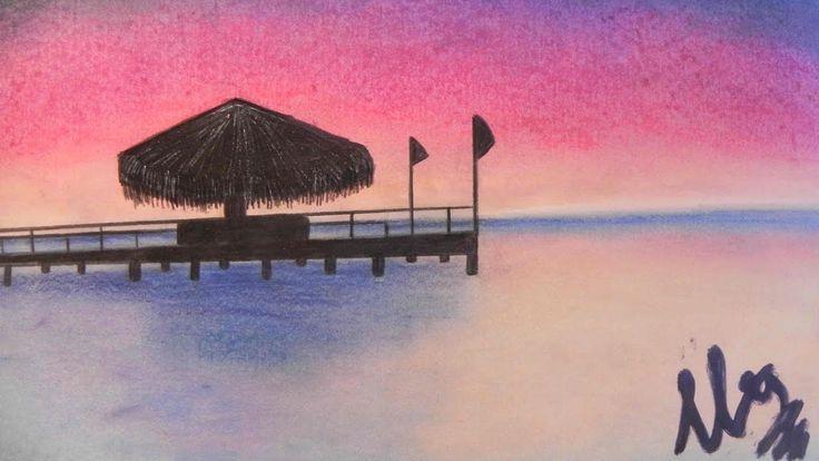 Speed Painting & Drawing: Paisaje con pasteles