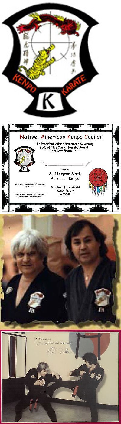 DVDs Videos and Books 73991: American Kenpo 2Nd Degree Program Black Belt Certificates Included -> BUY IT NOW ONLY: $200 on eBay!