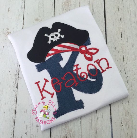 Personalized Pirate Shirt Neverland Theme Shirt Ahoy Matey