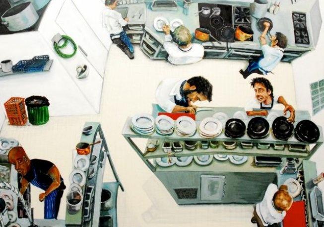 too many cooks, artist Jeff Martin