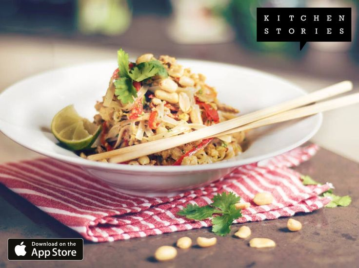 """I am cooking """"Classic Pad Thai"""" with @1KitchenStories - Download http://itunes.apple.com/app/id771068291"""