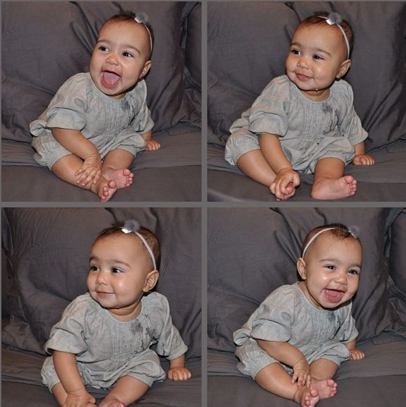 In May of 2015, Kim Kardashian announced that she is expecting her second child with Kanye West.    This is very exciting news, of course, but nothing will ever top one's first.    Especially when that one is as precious and as adorable as North West.
