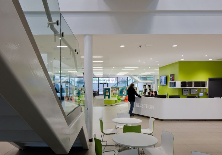 Ashington Leisure Centre | Ward Robinson Interior Design | Library & Community Centre Reception