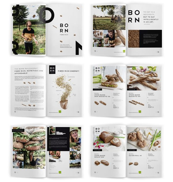 Another cohesive publication. The imagery all has a similar feel and color palette--good to keep in mind when looking for imagery for projects. The color scheme is simple, natural, but the placement of color is well thought out to balance each page.