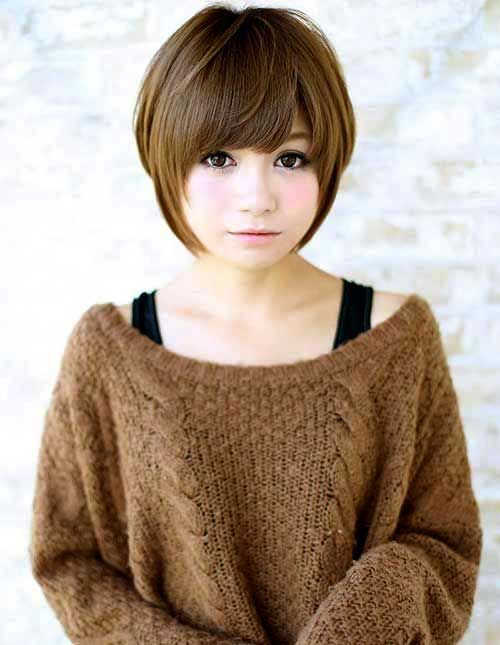 Asian Haircuts for Round Faces