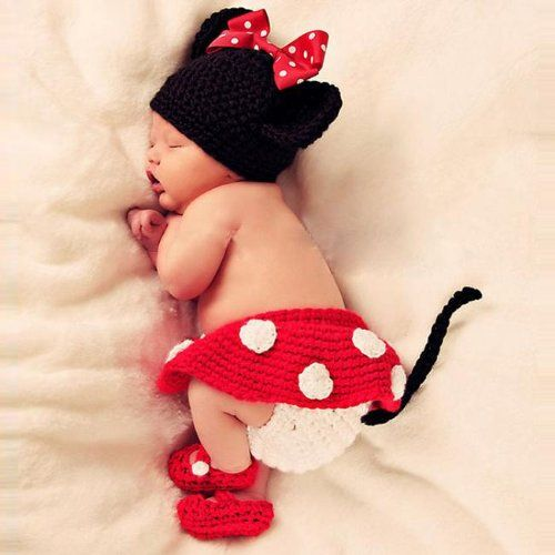 Towall 1 Set Vivid Lovely Minnie Hat+Skirt+Shoes Crochet Knit Photo Prop Costume For Girl Infant Baby Towall http://www.amazon.com/dp/B00IWKLLV2/ref=cm_sw_r_pi_dp_wFu8ub1S3W6GN