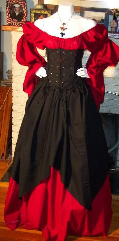Hey, I found this really awesome Etsy listing at http://www.etsy.com/listing/73890088/halloween-pirate-witch-dress-corset