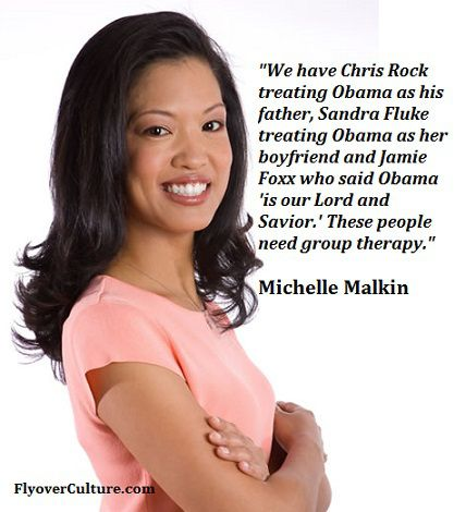 Michelle Malkin: Group therapy for celebrity Obamabots