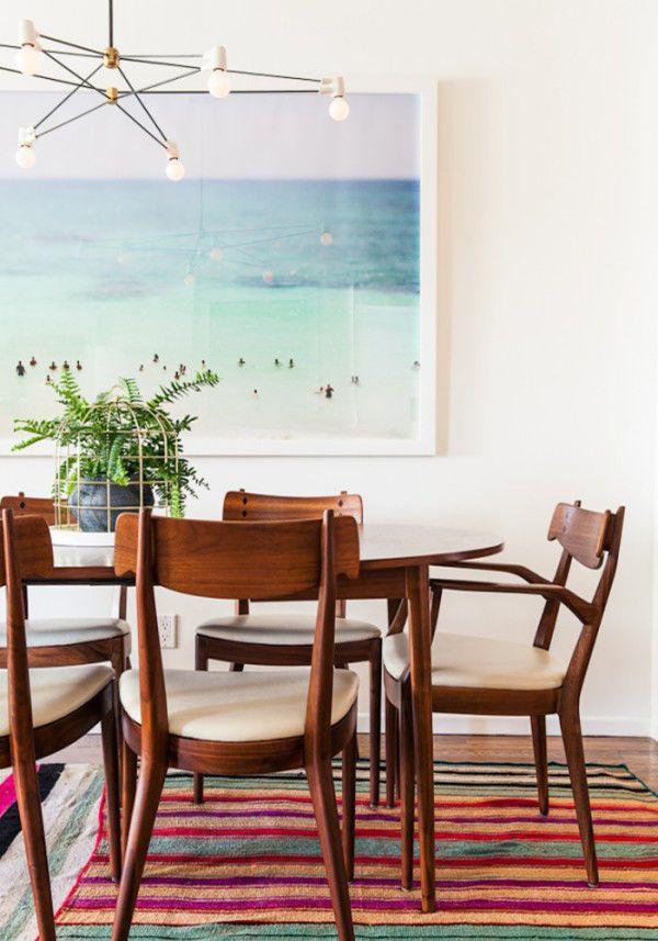 Fotografia na sala de jantar