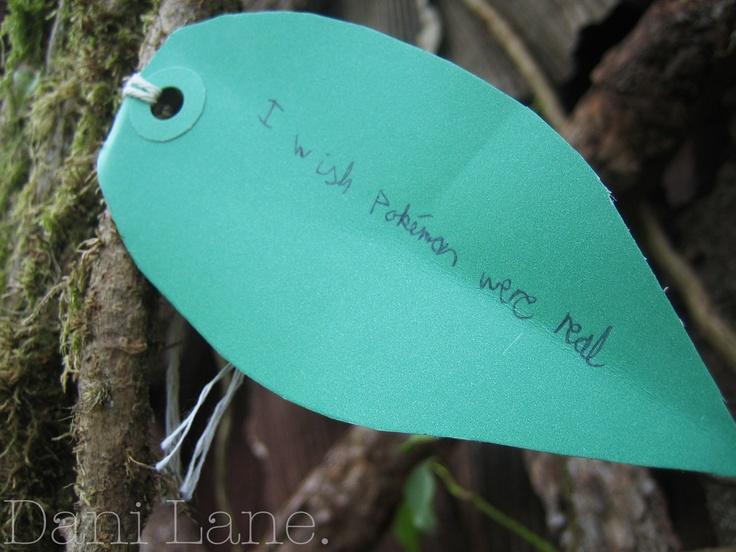 Wish Tree at Green Man.