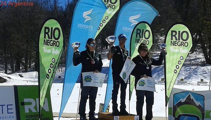 Juegos Argentinos de Invierno: los esquiadores rionegrinos arrasaron en el biatlón