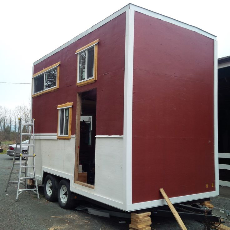 34 best tiny house mini maison images on pinterest for Energy efficient tiny homes