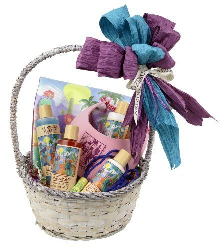 Arizona Sun Cruise and Resort Gift Basket - Say Bon Voyage - Have a Great Trip Gifts - Everything Needed for Vacation - Soothing Skin Care - Sun Care Protection - Any Occasion - Birthday by Arizona Sun. $85.00. A great gift for any occasion. The Perfect Gift. Everything needed for the perfect vacation. Send to any destination. This basket includes everything needed for any vacation! This Gift Basket includes a colorful Arizona Sun giant tote bag, Moisturizer (8 ...