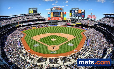 Tickets to mets game for very cheap!!!! Groupon rocks!!!