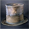 One of Abe Lincoln's top hats at the American History Museum.