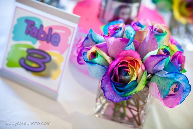 Tye Dye Roses Love Centerpieces Pinterest Tye Dye
