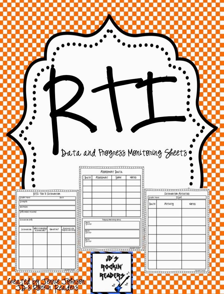 Adventures in Literacy Land: RTI Documentation- Tier 3