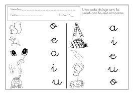 Resultado de imagen para dibujo vocales