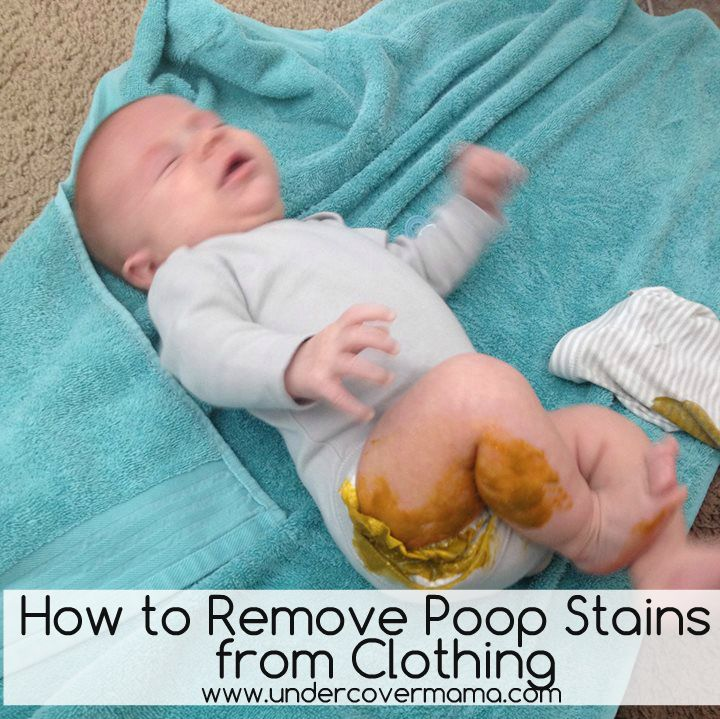Shit Stains Laundry tips to...