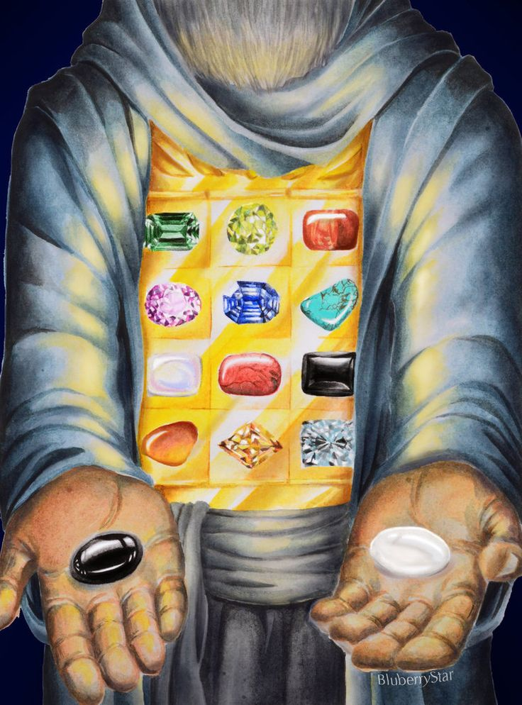 The Alchemist #6 - Urim and Thummim by Blu3berryStar