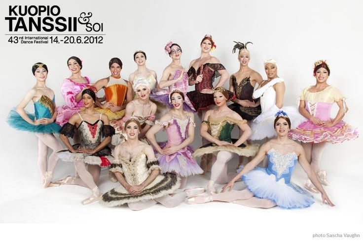 Kuopio Tanssii ja Soi - International Dance Festival 14.-20.6.2012 offers contemporary dance, ballet, premieres and Les Ballets Trockadero de Monte Carlo!