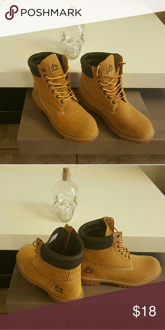 Basic Lumberjack Boots Not Timberlands, the Brand is RBX Timberland Shoes Boots