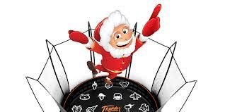 f Santa is visiting to deliver your trampoline on Christmas Eve - Here are some tips from Vuly about setting it up on the magical night. One of them includes an alibi if you happen to get caught out! www.trampolinedeals.com.au