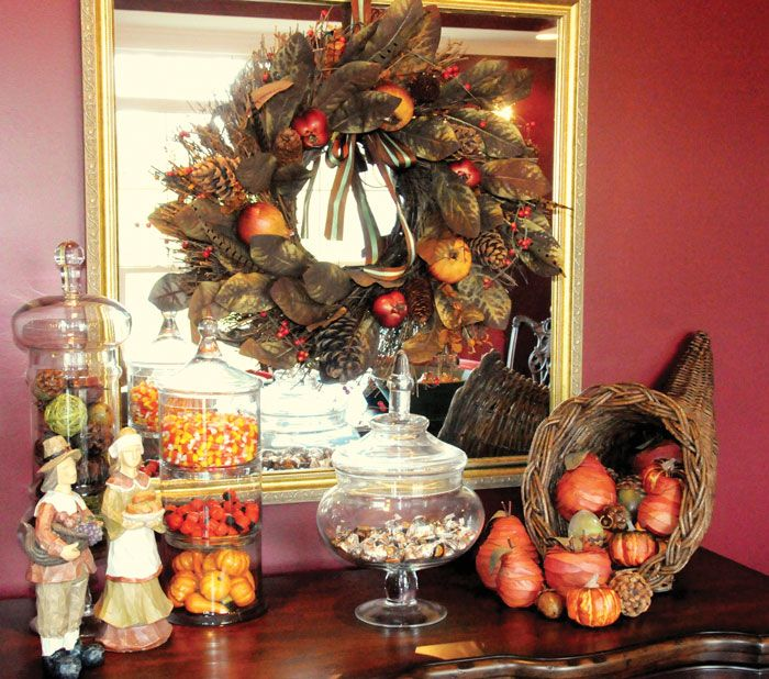 Thanksgiving Decor   The Polkadot Chair