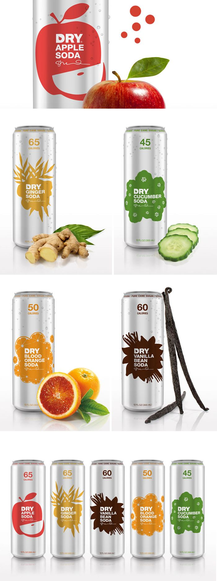 Dry Soda |  Designed by Turnstyle, Seatle