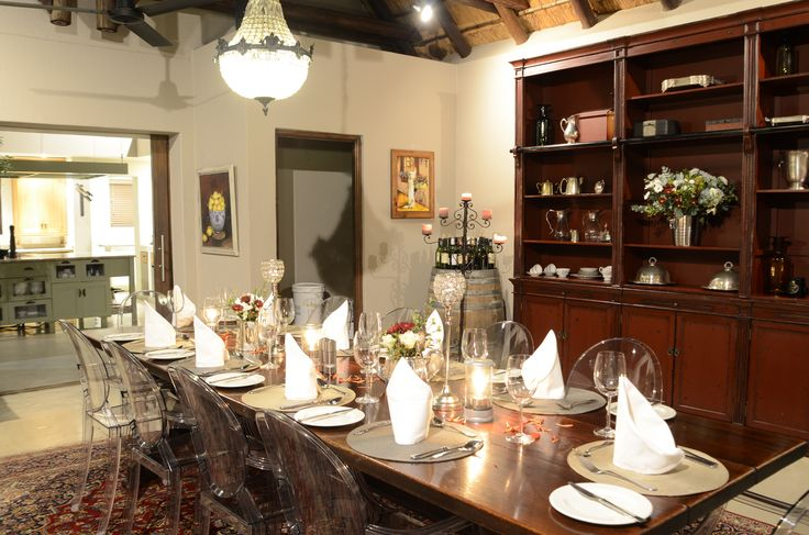 Perfect for a private dinner party