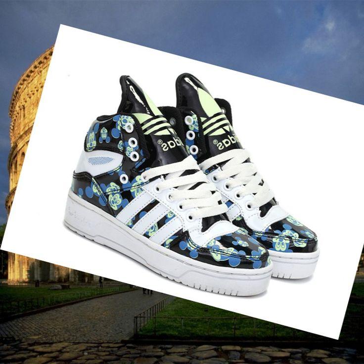 Adidas Originals Luminoso Mickey Unisex Scarpa Nero HOT SALE! HOT PRICE!