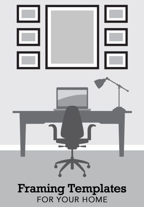 How to Frame Pictures in your Home | Custom Framing Templates | Home Decor Ideas…