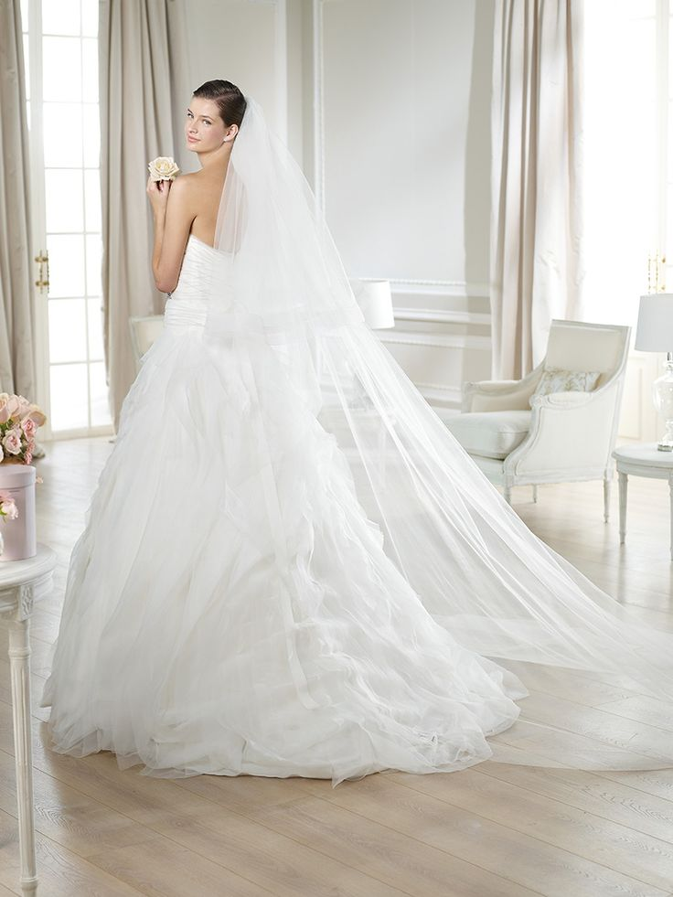 120 besten ♥ Trouwjurken White One by Pronovias - Wedding Dresses ...
