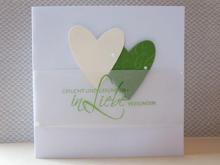 Hochzeitskarte edel